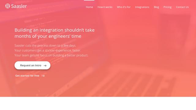 Saasler API koppeling