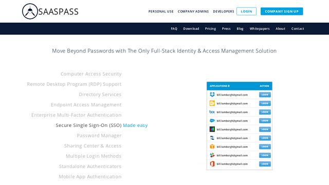 SAASPASS API koppeling