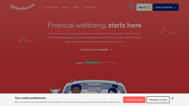Salary-Finance API koppeling