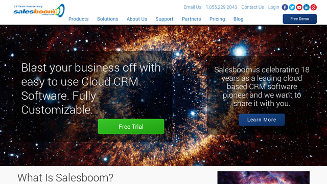 Salesboom API koppeling