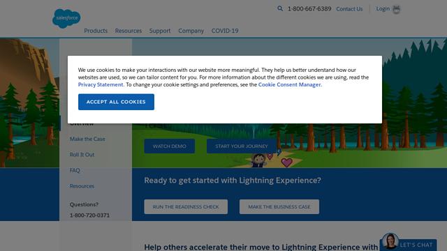 Salesforce-Lightning API koppeling