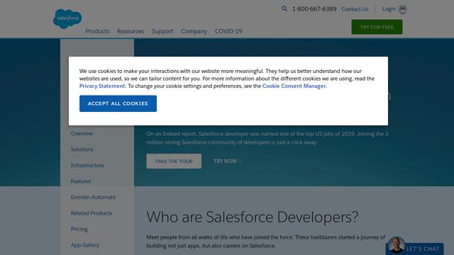 Salesforce API koppeling
