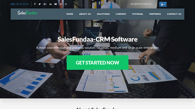 SalesFundaa-CRM API koppeling