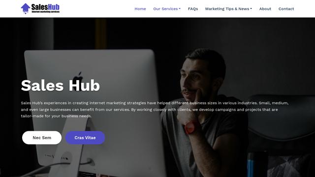 SalesHub API koppeling