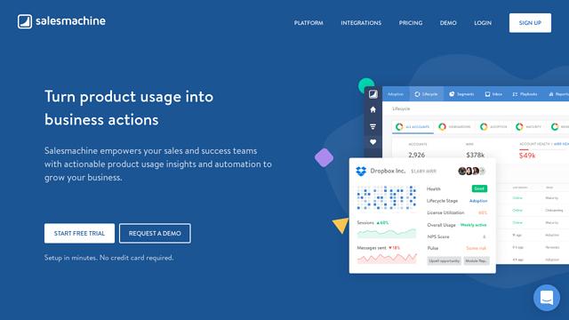 Salesmachine API koppeling