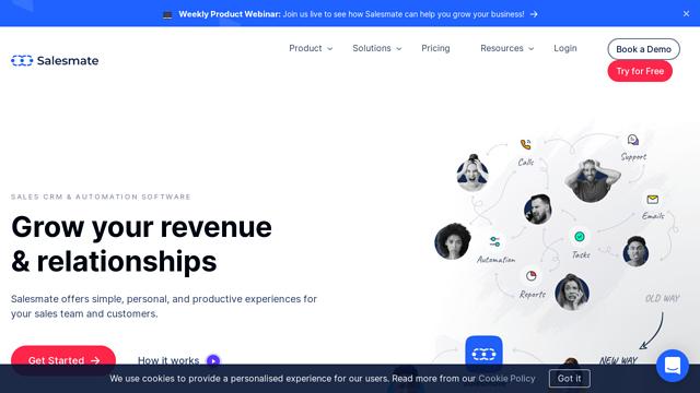 Salesmate API koppeling