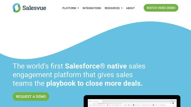Salesvue API koppeling