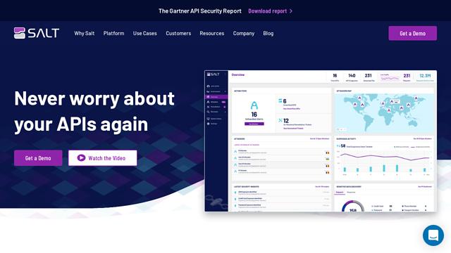 Salt-Security API koppeling
