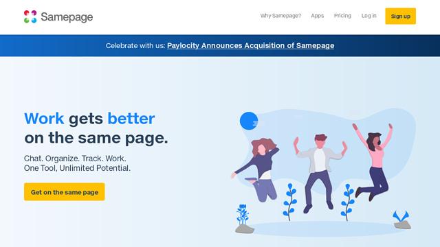 Samepage API koppeling