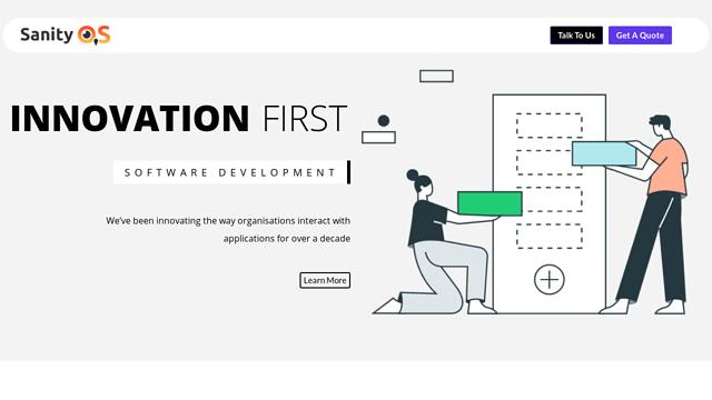 SanityOS API koppeling