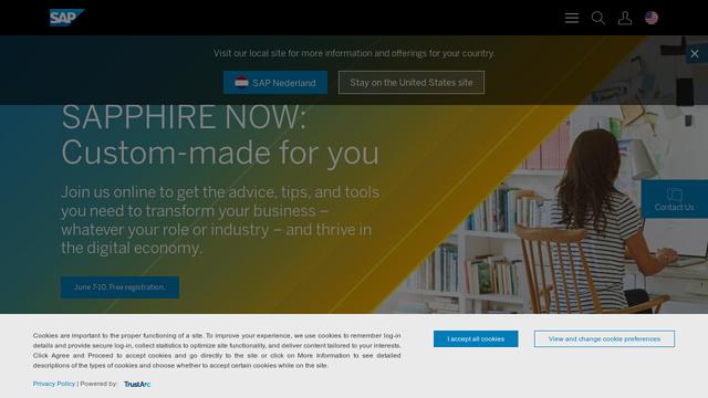 SAP-Sales-Cloud API koppeling