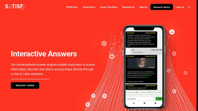 Satisfi-Labs API koppeling