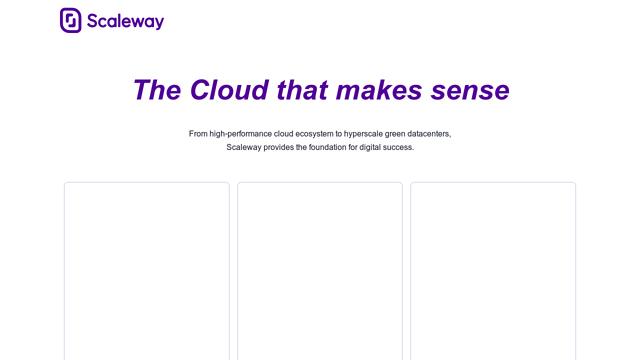 Scaleway API koppeling