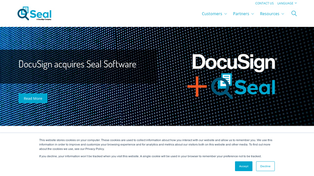 Seal-Software API koppeling
