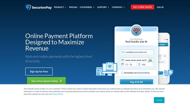 SecurionPay API koppeling