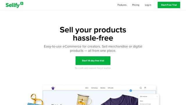 Sellfy API koppeling