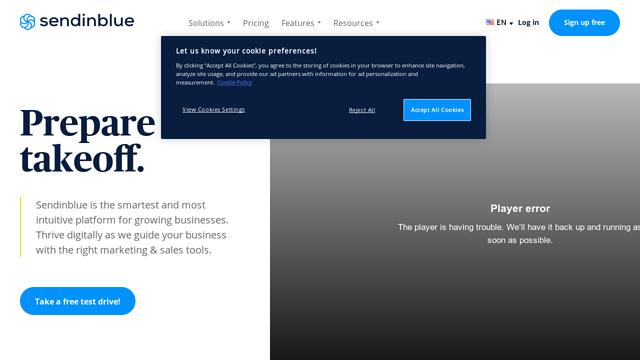 SendinBlue API koppeling