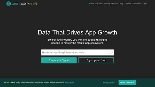 Sensor-Tower API koppeling