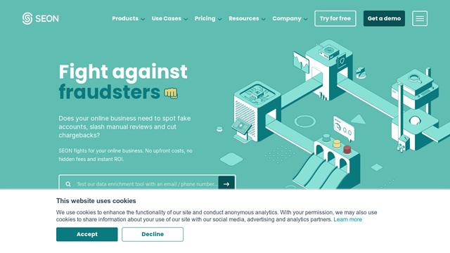 SEON.-Fraud-Fighters API koppeling