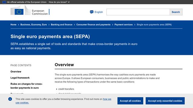 SEPA API koppeling