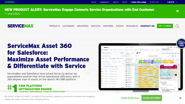 ServiceMax API koppeling
