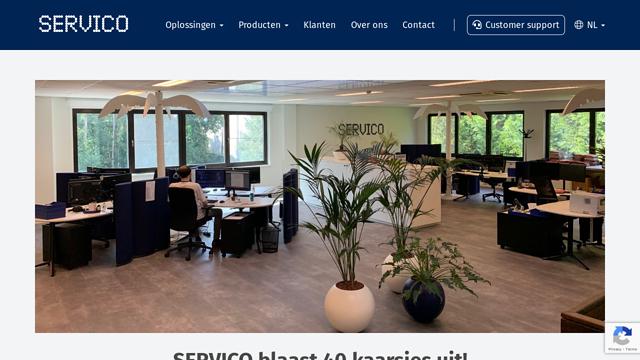 Servico API koppeling