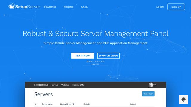 SetupServer.io API koppeling