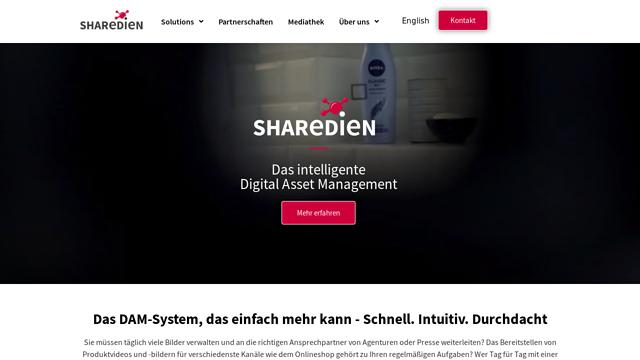 Sharedien API koppeling