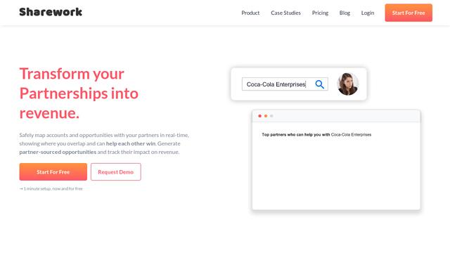 Sharework API koppeling
