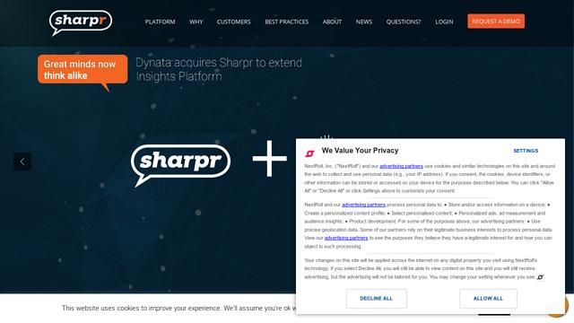 Sharpr API koppeling
