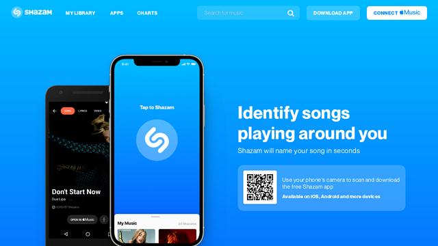 Shazam API koppeling