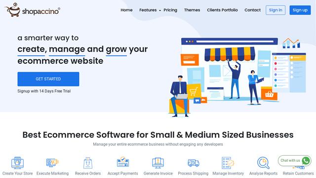 shopaccino API koppeling