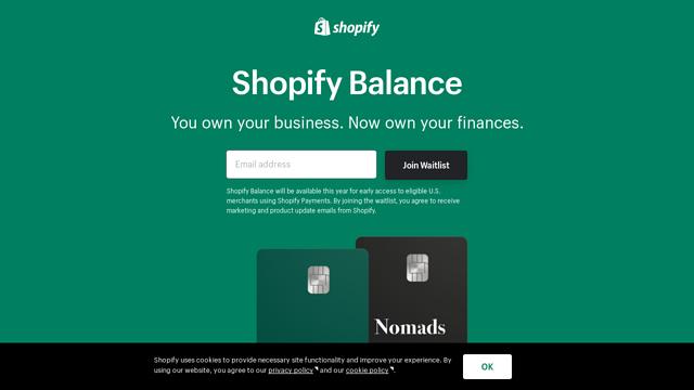 Shopify-Balance API koppeling