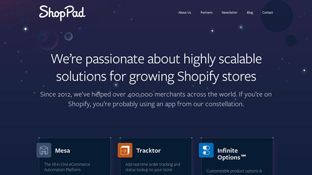 Shoppad API koppeling