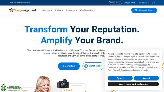 ShopperApproved API koppeling