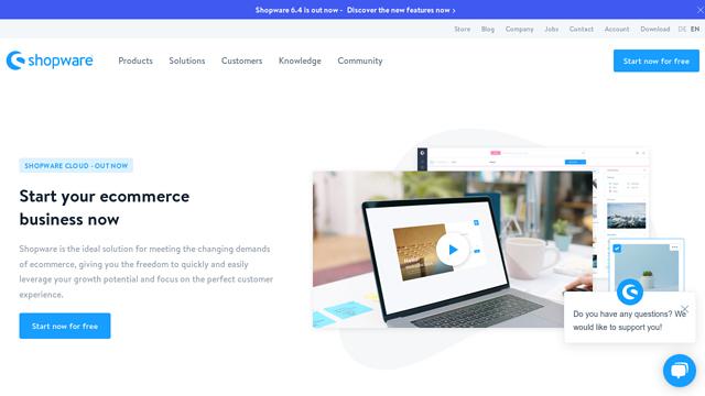 Shopware API koppeling