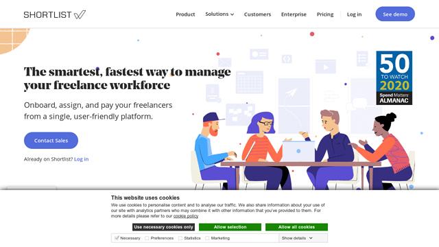 Shortlist-Freelancer-Management-(Shortlist-Project-Inc) API koppeling