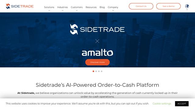 Sidetrade API koppeling