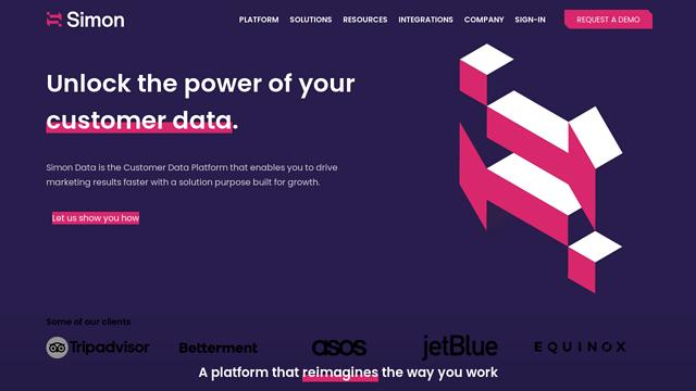 Simon-Data API koppeling