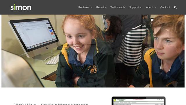 SIMON-Web-Based-Solutions-For-Schools API koppeling