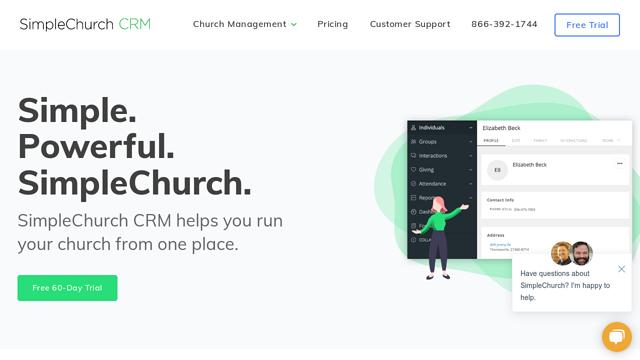 SimpleChurch-CRM API koppeling