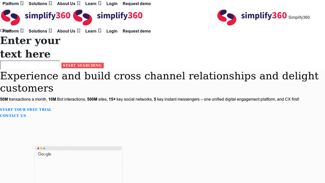 Simplify360 API koppeling