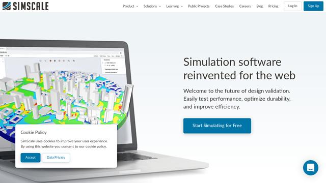 SimScale API koppeling