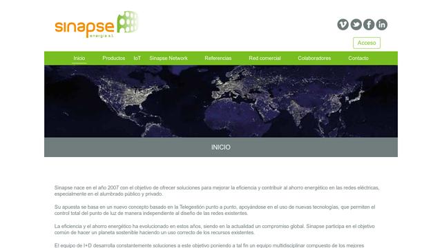 Sinapse-Energia API koppeling