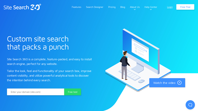 Site-Search-360 API koppeling