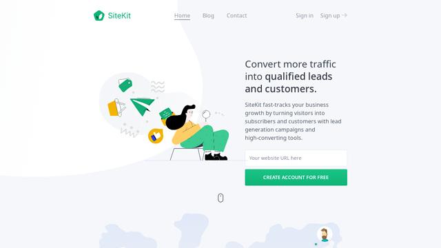 SiteKit API koppeling