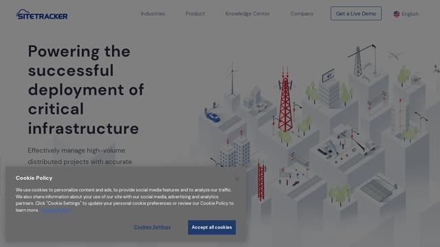 SiteTracker API koppeling