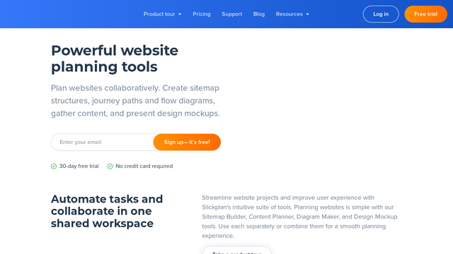Slickplan API koppeling