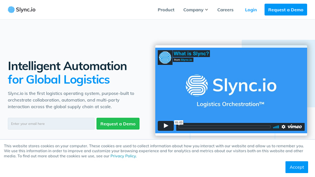 Slync.io API koppeling