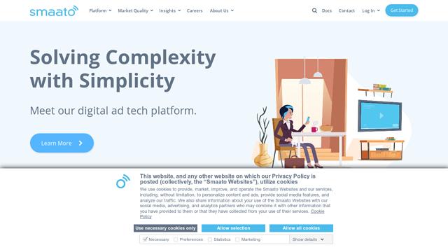 Smaato API koppeling